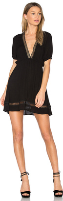 C & C California Abri Plunging Mini Dress $131 thestylecure.com