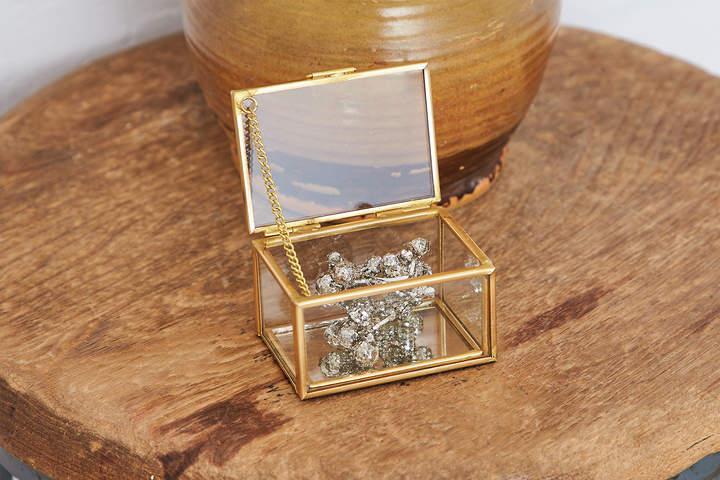 Aeo Glass Trinket Box
