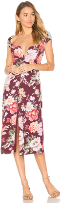 MAJORELLE Willow Midi Dress $238 thestylecure.com