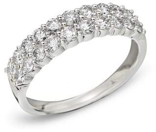 Bloomingdale's Diamond Double Row Band in 14K White Gold, .50 ct. t.w.