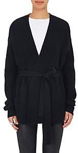 Helmut Lang Women's Wool-Cashmere Wrap Cardigan - Blk