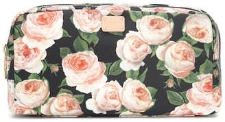 Dolce & Gabbana Floral-printed cosmetics case