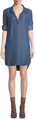 Velvet Heart Aveline Chambray Shirtdress