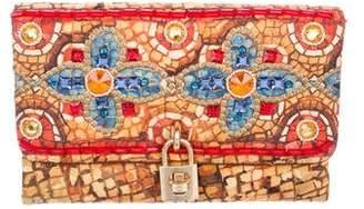 Dolce & Gabbana Embellished & Printed Clutch