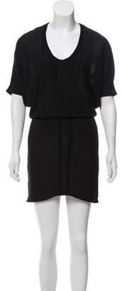 Helmut Lang A-Line Mini Dress