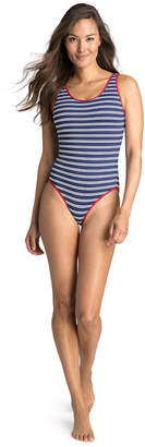 Vineyard Vines Edgartown Stripe Low Back One Piece