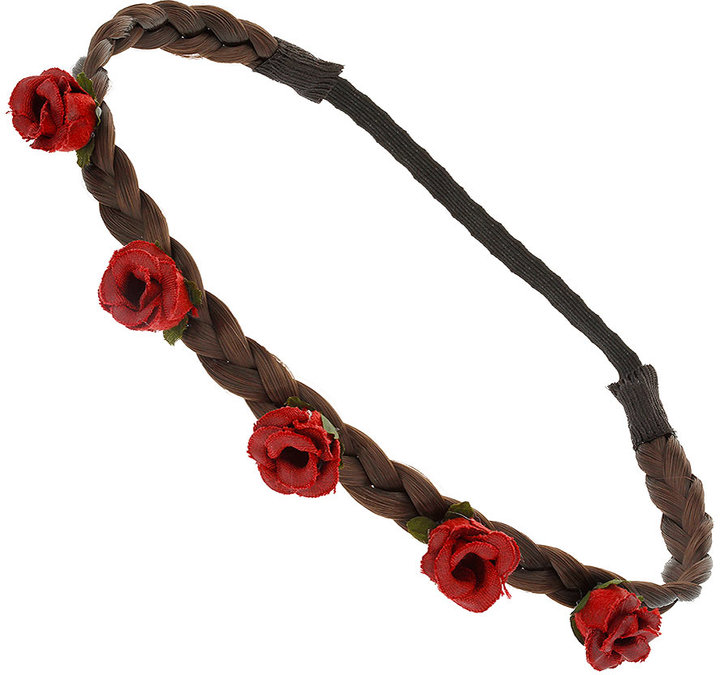 Hair Plaited Flower Headband