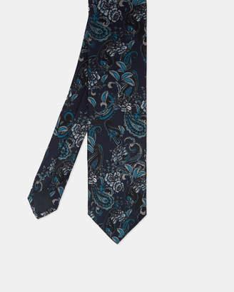 Ted Baker CARRAGE Paisley print silk tie