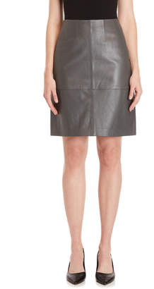 TSE Leather Skirt