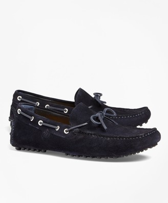 Brooks Brothers Suede Driving Mocs