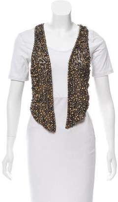 Jocelyn Beaded Mesh Vest
