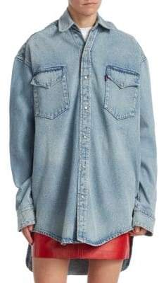 Vetements Heavy Denim Shirt