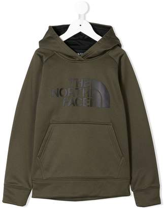The North Face Kids logo print hoodie