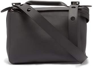 Sophie Hulme Bolt Leather Shoulder Bag - Womens - Grey