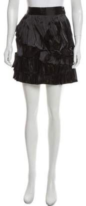 Sophia Kokosalaki Pleated Mini Skirt