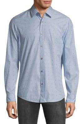 HUGO BOSS Lukas Embroidered Dress Shirt