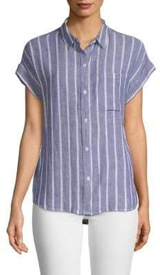 Rails Mia Stripe Button-Down Shirt
