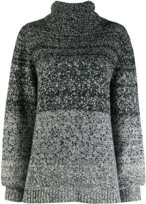 Dusan gradient knit jumper