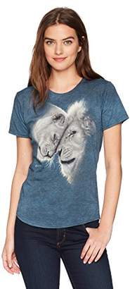 The Mountain Women's Tri-Blend White Lions Love T-Shirt