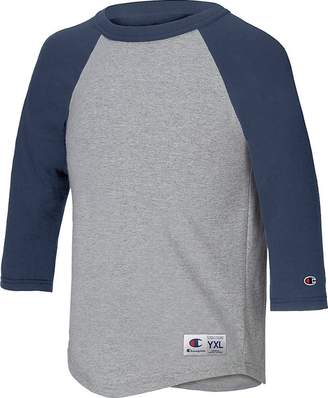 Champion Youth Raglan Baseball T-Shirt__M