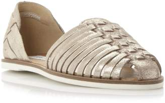 2855e7512b3e at Dune · Steve Madden HILLARIE SM - Woven Two Part Huarache Shoe