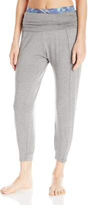 Maaji Women's Seed Power Charming Flow Yoga Sweat, Grey, M