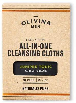 Olivina 10-Pack Junper Tonic Face and Body All-in-One Cleansing Cloths