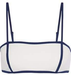 Solid & Striped The Natalie Two-Tone Bikini Top