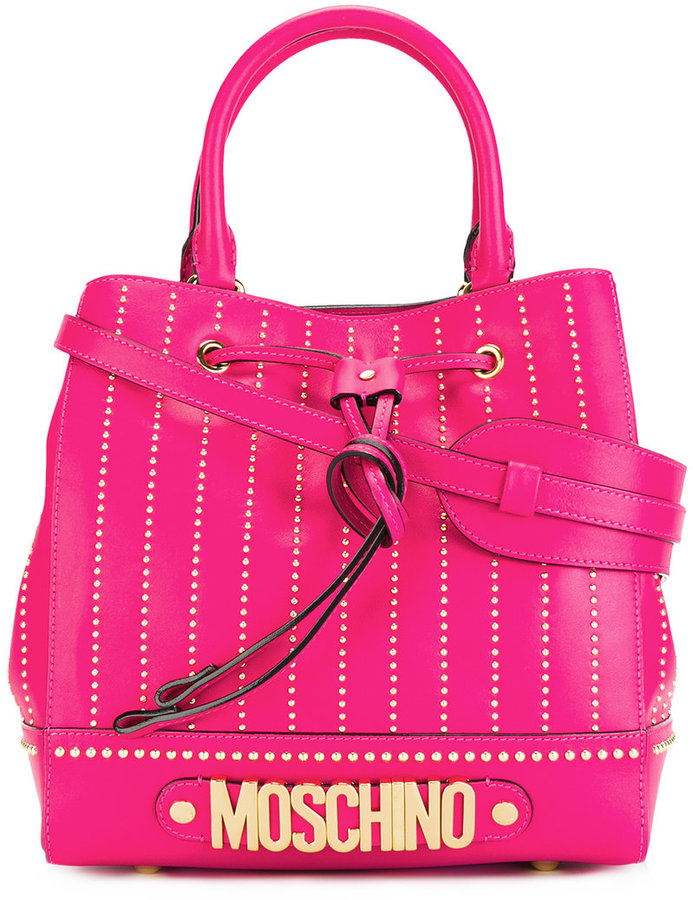 Moschino Moschino logo letters tote