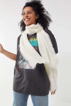 Urban Outfitters Thin Fuzzy Scarf