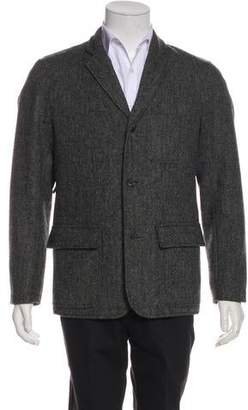 Mark McNairy New Amsterdam Wool Button-Up Blazer