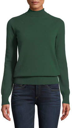 Neiman Marcus Cashmere Turtleneck Sweater