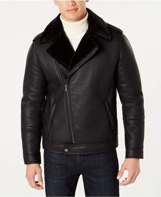 INC International Concepts I.n.c. Men's Cooper Faux Shearling Lined Jacket