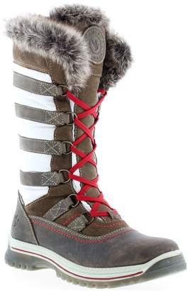 Santana Canada Core Urban Faux Fur-Trim Anti-Slip Boots
