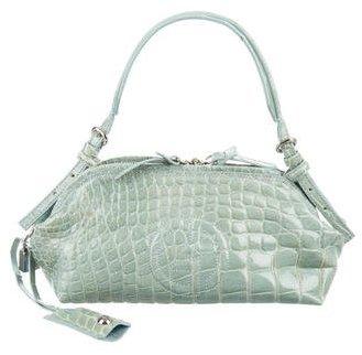 Giorgio Armani Small Crocodile Handle Bag