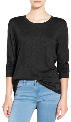 Women's Bp. Long Sleeve Crewneck Tee $19 thestylecure.com