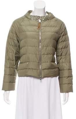 Fabiana Filippi Short Puffer Jacket w/ Tags