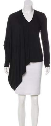 Kaufman Franco KAUFMANFRANCO Asymmetrical Long Sleeve Top