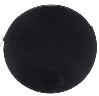 Kara Leather Circle Clutch