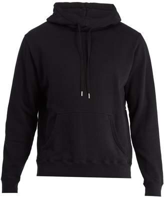 Sunspel Hooded cotton-jersey sweatshirt