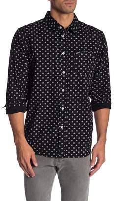 Obey Swindle Printed Long Sleeve Shirt