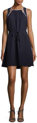 Armani Exchange Cut-Out Shift Dress