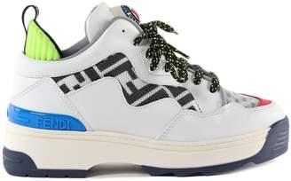 Fendi Panel Platform Sneakers