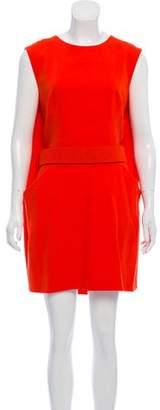 Alexander McQueen Belted Sleeveless Dress w/ Tags