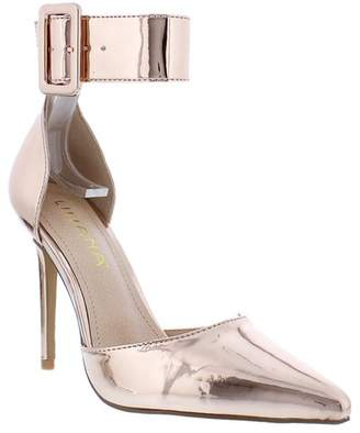 Liliana Quiza Pointed Toe Ankle Strap Pump
