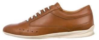 John Lobb Leather Low-Top Sneakers brown Leather Low-Top Sneakers