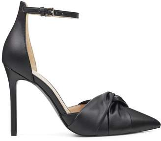 Triedthat Knotted Ankle Strap Pumps