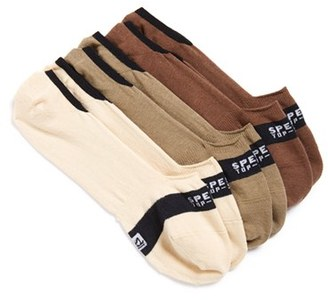 Men's Sperry Cotton Blend No-Show Socks $16 thestylecure.com