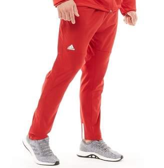 pretty nice 9bf67 f53a9 adidas Mens Ekit Snap Basketball Pants Power RedWhite