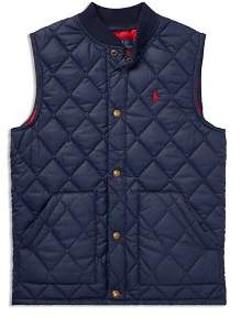 Ralph Lauren Boys' Quilted Vest - Big Kid
